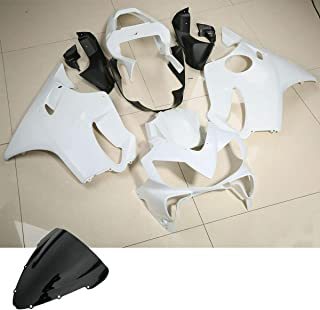 TCMT Fairing Cowling Body Set Fits For Honda CBR600F4I CBR 600 F4I 2001-2003 02 Unpainted