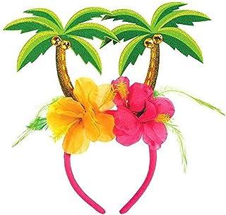 """Amscan 393926 Palm Tree Head Bopper, Multi Color; 10 1/4"""" x 10"""""""