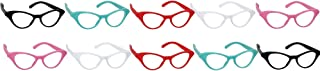 50's Cat Style Party Glasses, 10 Ct.