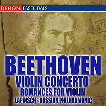 Beethoven Romances Nos. 1 & 2; Violin Concerto No. 1