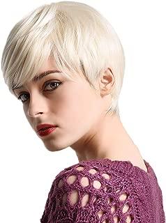 Best platinum blonde pixie cut wig Reviews