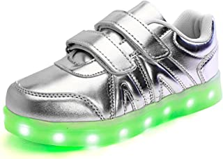 LED Luminous Unisex Sneakers, Light Colorful Glowing Leisure Flashing Sport Shoes.