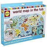 Alex Jura Toys 200020 Toys Bath World Map in The Tub