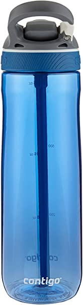 Contigo Autospout Ashland Water Bottle, 24oz , Monaco