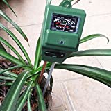 Soptool 3-in-1 Gardening Tool Soil Meter Light Meter pH Meter Acidity Moisture Sunlight