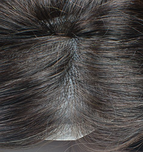 Kabello Best Quality Original Indian Human Hair Accessories Patch | Hair Wigs...