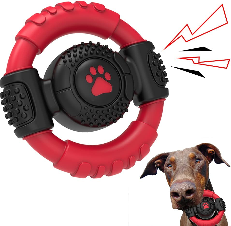 Dog favorite Chew Squeaky Toy for Indestructible Chewers Boston Mall Aggressive Tough