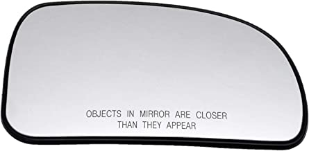 New Replacement Passenger Side Heated Replacement Mirror Glass W Backing Compatible With Buick Rainier Chevrolet Chevy Trailblazer GMC Envoy Sold By Rugged TUFF