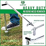 Stand-Up Weeder and Root Removal Tool - Ergonomic Weed Puller with A 33""