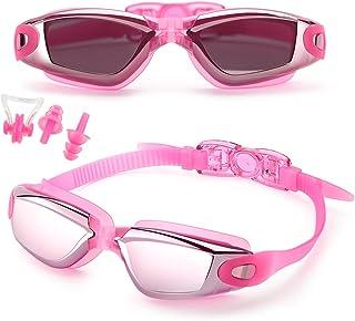 comprar comparacion Feilan Gafas de Natación,Gafas para Nadar, Cristal Anti Niebla, Cómodo Sello Hermético, para Adultos, Niños, Hombres, Muje...