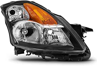 ACANII - For 2007 2008 2009 Nissan Altima 4-Door Sedan Headlight Headlamp Light Replacement Right Passenger Side 07-09