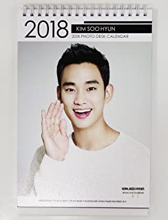 KIM SOO HYUN - 2018-2019 PHOTO DESK CALENDAR