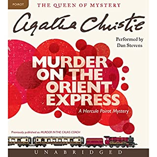 Murder on the Orient Express audiobook cover art