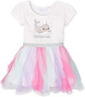 فستان للفتيات بأكمام قصيرة من ذا كيدز بليس