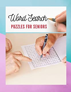 Word Search Puzzles For Seniors: Activities Word Search Books, Word Find Intelligent Word Search (Brain Games for Adults)