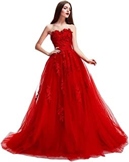 3847fbc498 Nicefashion Flower Lace Tulle Ball Gown Pageant Dresses Princess Wedding  Dress
