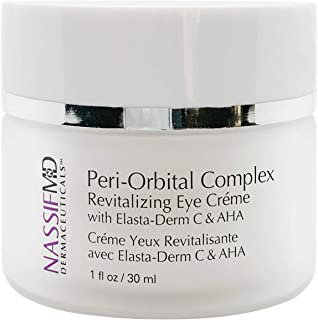 NassifMD Peri-Orbital Eye Complex, Regenerating Under Eye Cream for Fine Lines & Wrinkles