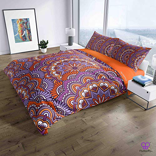Flutterfly duvet cover king size superk duvet cover queen superk bedding set bed set queen housse de couette superking Boho Bohemian (1009-1200) design