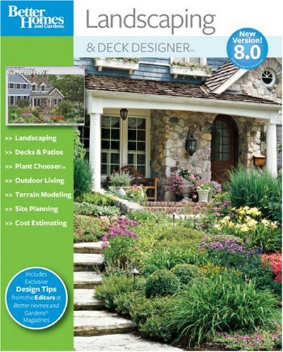 Amazon Com Better Homes And Gardens Landscaping And Deck Designer 8 0 Old Version Software