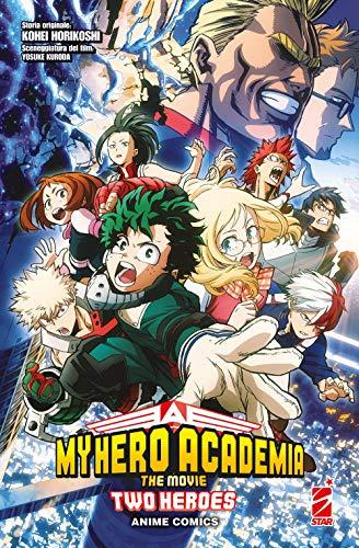 Two heroes. My Hero Academia the movie. Anime comics