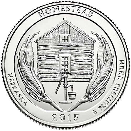 2015 D Bankroll of 40 – Homestead National Park Uncirculated