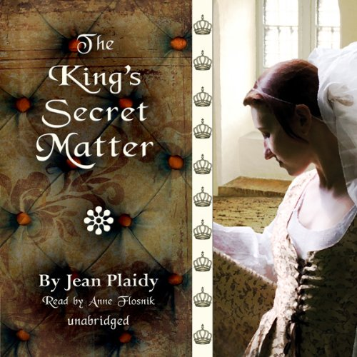 The King's Secret Matter audiobook cover art