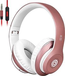 8S Auriculares Inalámbricos, Audífonos Inalámbricos Bluetooth Plegables HiFi con Micrófono Incorporado y Control de Volume...