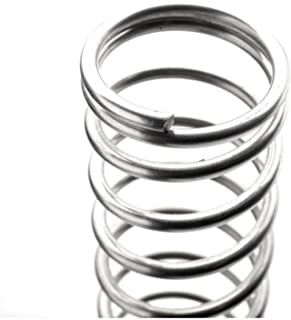 Compression Spring Steel Non-corrosive Tension Spring Length : 10mm Rust-proof and durable Wire Dia 0.8mm Outer Dia 12mm Length 10mm-50mm Ruirli-SP 10Pcs
