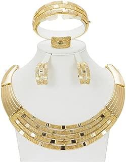 Dubai Suit Jewellery Gold Nigerian Wedding African Beads Ethiopian Bridal Jewelry Sets