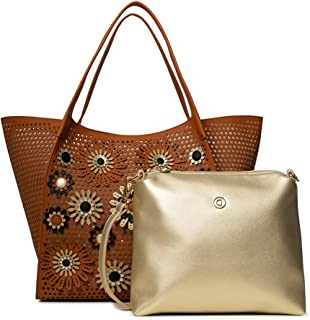 Desigual - Borsa da donna Bols_Allegreto Zaria, misura media, colore: Marrone