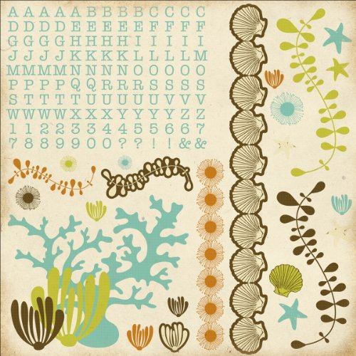 Rock Pool Cardstock Stickers 12