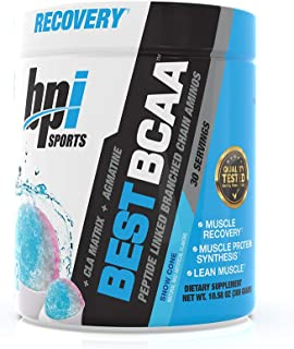 BPI Sports Best BCAA - BCAA Powder - Branched Chain Amino Acids - Muscle Recovery - Muscle Protein Synthesis - Improved Pe...