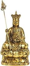 Feng Shui Statues Dizang Bodhisattva Buddha Statue The Tibetan King Decoration Perfect Home Gift, Religious Supplies Livin...