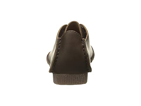 Leather Clarks Mae Beeswax LeatherBlack Janey 0nAH8wqHzx