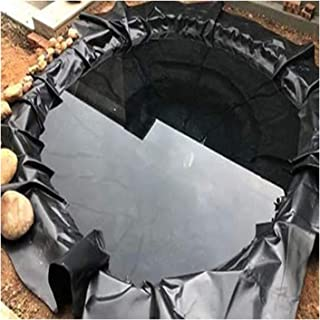 Fish Pond Bed Liners Preformed Pond Garden Pool Membrane Tear Resistance Waterproof, 0.22mm Thick, 58 Sizes GHHZZQ (Color...