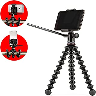 GripTight PRO Video GorillaPod Stand: Universal Pan & Tilt Video Tripod Head and GorillaPod for Smartphones from iPhone SE to iPhone 8 Plus, Google Pixel, Samsung Galaxy S8 and More