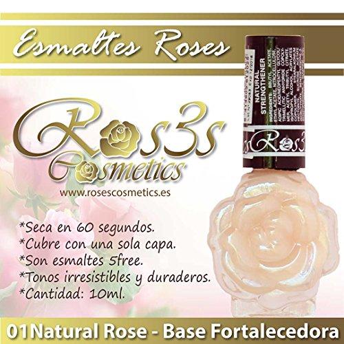 Base/Endurecedor de uñas Roses, Pintauñas, Ros3s Cosm3tics, Konad