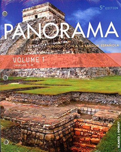 Panorama 5e Student Edition V1(1-8) (Loose-Leaf)