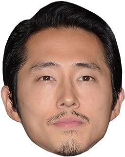 Steven Yeun Celebrity Mask, Card Face and Fancy Dress Mask