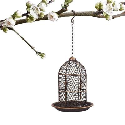 PETRIP Bird Feeders for Outside Wild Bird Feede...