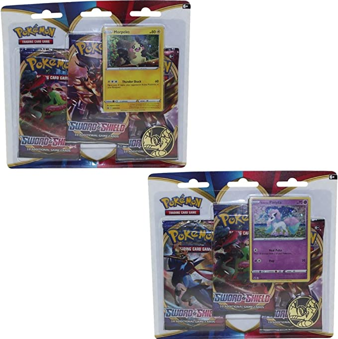 Sealed New Sword and Shield Pokemon Card Gym Promo Card booster Pack set Vol.3