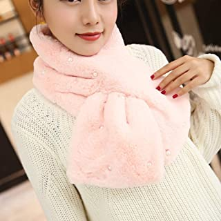 Fashion Scarf, Cashmere Long Scarf, Japanese Sweet and Solid Color Collar, Suitable for Autumn and Winter Shawl Scarf