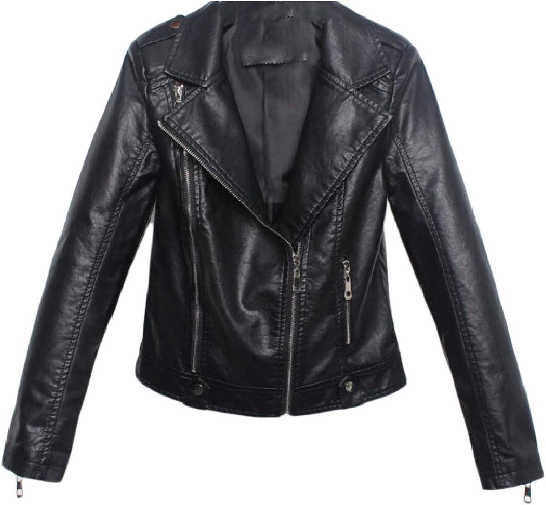 Maweisong Womens Lightweight Jackets Faux Suede Zipper Solid Coat Tops Outwear