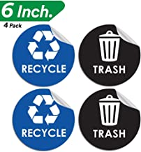 Best recycling stickers for bins nyc Reviews
