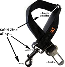 Relgard Safety Dog Seatbelt Tether and Restraint | Dog Seat Belt Harness for Cars | Amazing Quality and Adjustable, Dog Seat Belt Restraint for Small and Large Dogs and Cats