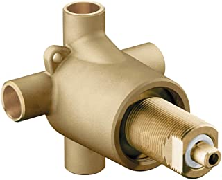 Moen 3360 Commercial Brass Three-Function Shower Transfer Valve, 1/2-Inch CC Connections