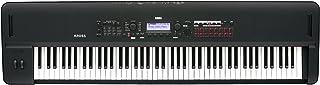 KORG コルグ キーボード シンセサイザー ステージ・ピアノ KROSS 2 クロス 88鍵 ピアノ鍵盤 スーパー・マット・ブラック 音楽制作 ライブ・パフォーマンス 軽量ボディ 電池駆動可 アダプター付属