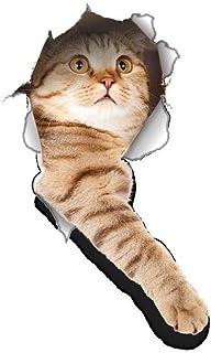 Dosige Gato Mascota 3D Pegatinas de Ventana Pared Extraíble Pegatinas Vinilo Decal Murales Para Cocina Sala