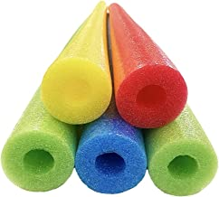 Oodles of Noodles Foam Pool Swim Noodles, 52 inch (5 Pack) - multicolored