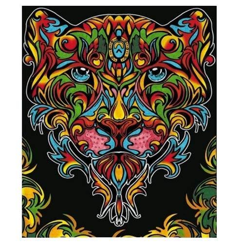 Colorvelvet L098 - Disegno 47x35 cm Tigre